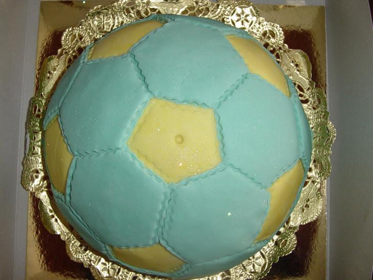 Voetbal voor papa Gijs