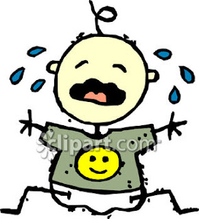 Crying Baby clipart image