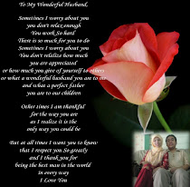 To my Lovely Husband