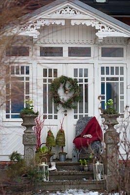 Decorare L Ingresso Di Casa Per Natale Blossom Zine Blog
