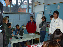 En el laboratorio del colegio