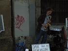 Musico em torino Italia