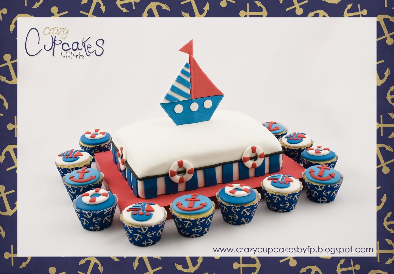 Crazy Cupcakes: No soy Marinero... Soy Capitán!!