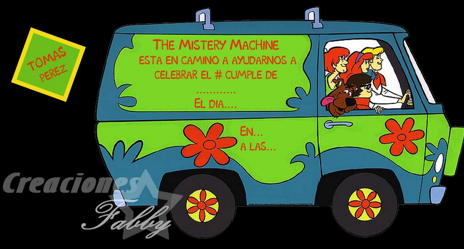 Scooby Doo Mystery Machine