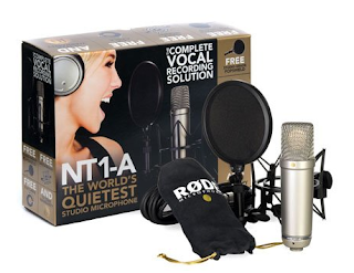 Rode NT1A Anniversary Vocal Condenser Microphone (with pop filter, shockmount, and CD containing Pro Tips)