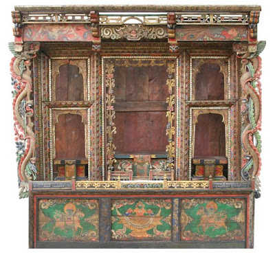 Digital Tibetan Buddhist Altar: Tibetan Altar, Tibetan Shrine ...