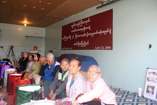 >Burmese Community in Colorado hold Senior Thanks Giving and Traditional Festival