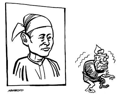 >Cartoon Saw Ngo- Dictator and Martyrs