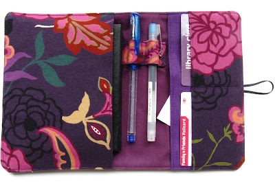 Purple organiser by Angharad
