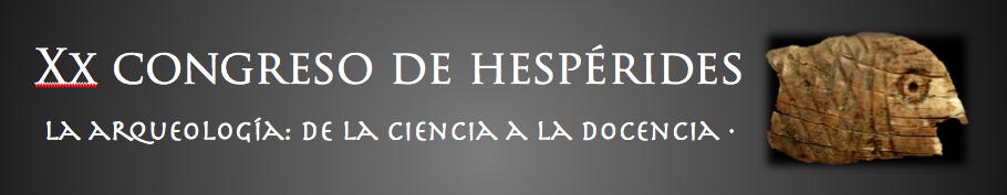 XX CONGRESO HESPÉRIDES