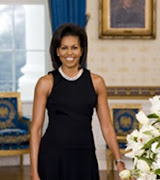 Official portrait of First Lady Michelle Obama