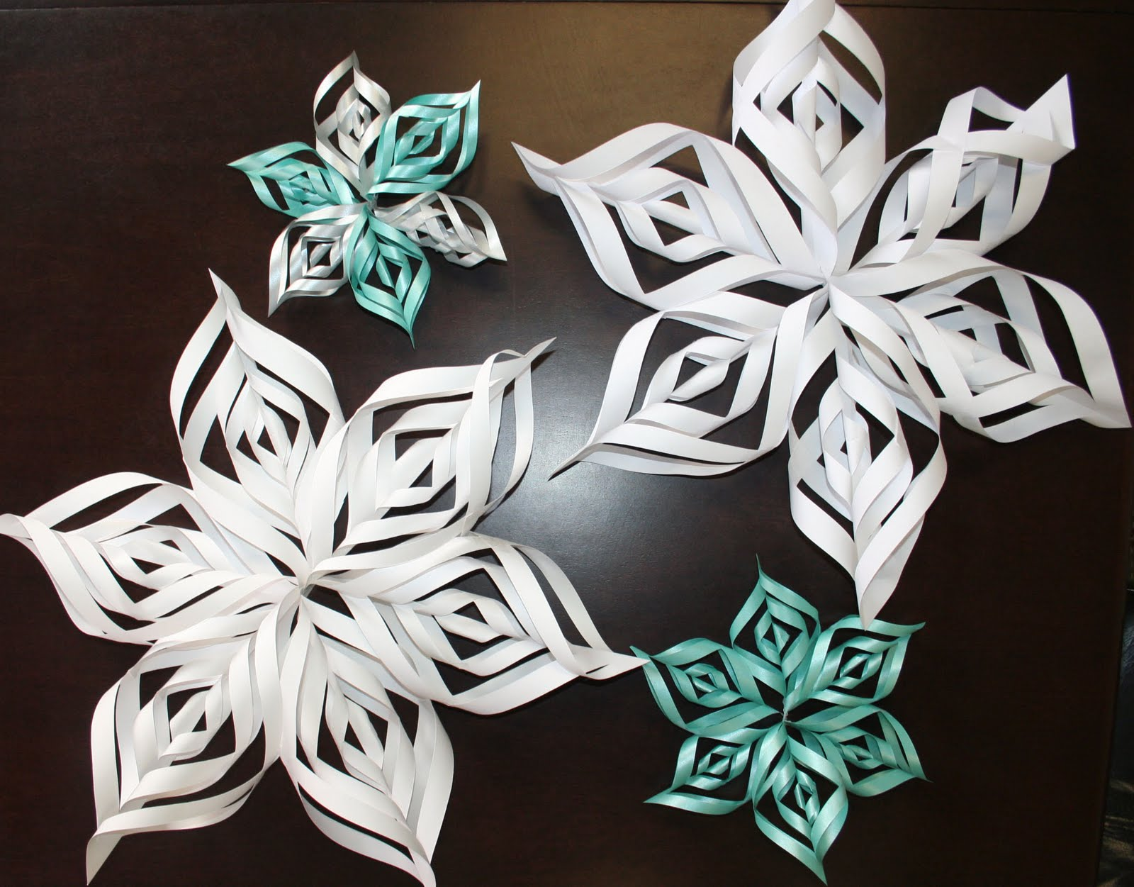 Page 1 paper snowflake index of folding patterns for children