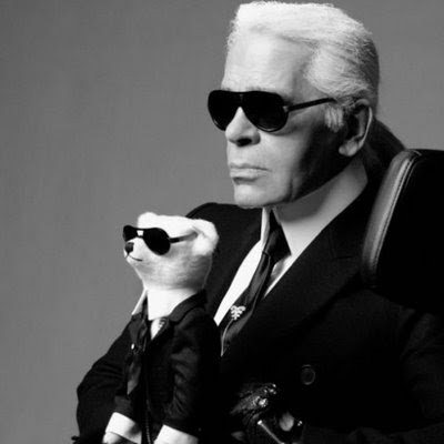 karl lagerfeld. Karl Lagerfield just got his