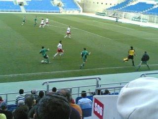 Imagem do último Farense-Faro e Benfica, disputado na época passada no Estádio Algarve