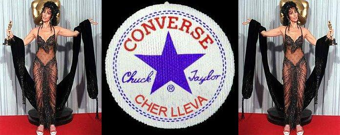 Cher lleva Converse