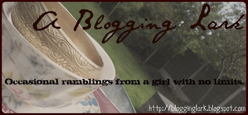 A Blogging Lark