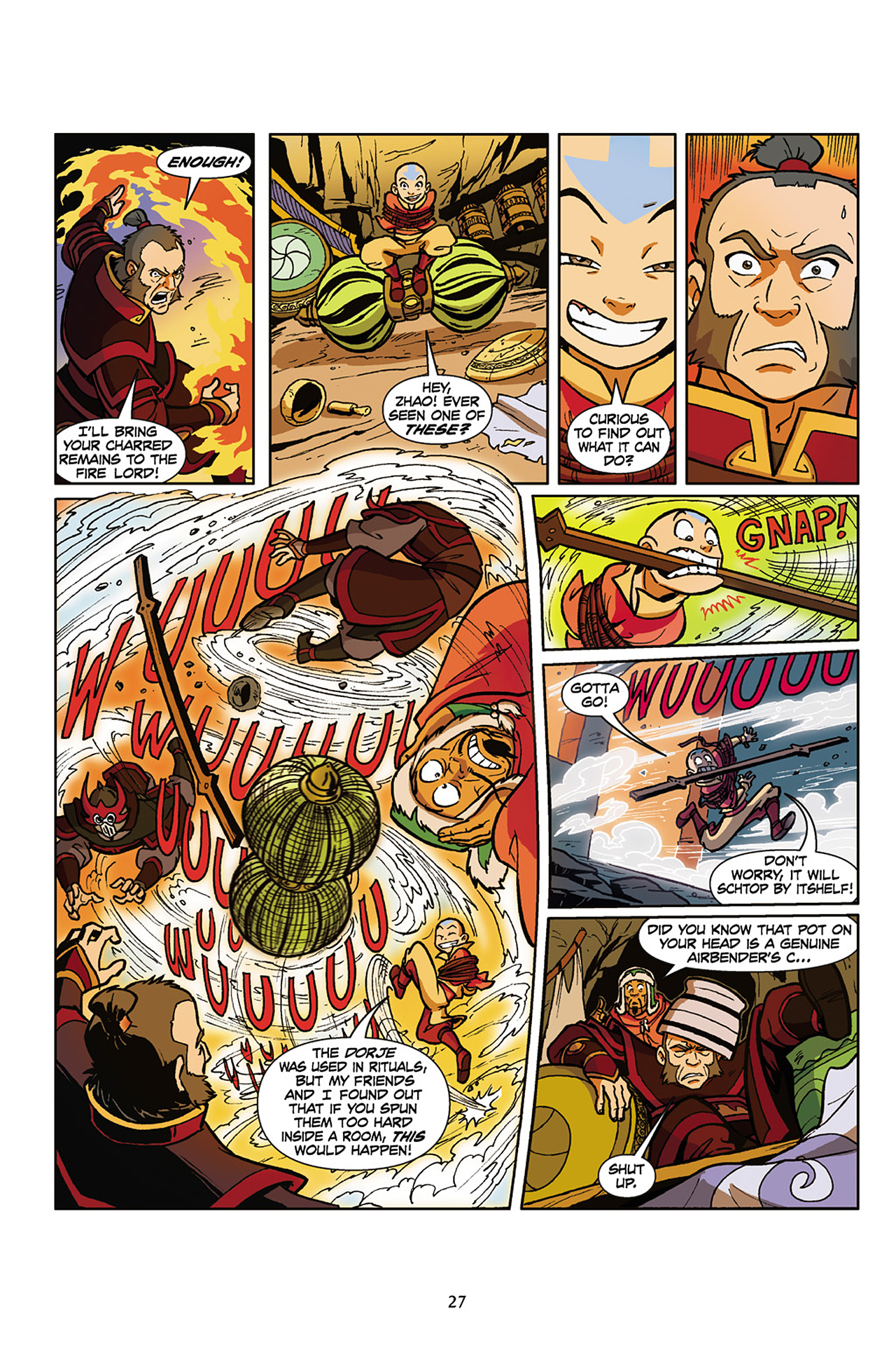 Nickelodeon Avatar: The Last Airbender - The Lost Adventures chap full pic 28