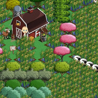 What is the fastest way to move up a level in Farmville