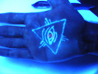 All seeing Eye. Posted in UV Tattoo. Saturday, October 2, 2010
