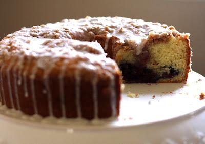 Cherry Streusel Coffee Cake | Bake-Aholic