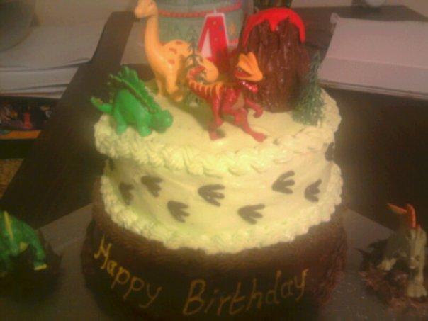 Homemade Happiness Cakes Dinosaur Cake For Jack 4