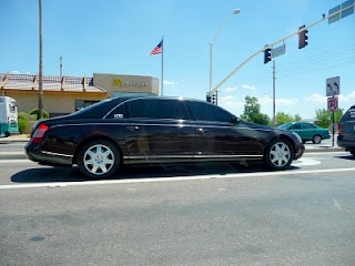 Exotic Maybach 57 spotted in Scottsdale