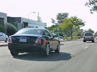 Maserati Quattroporte spotted in Phoenix