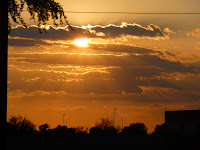 Sunset in Phoenix May 23rd, 2009