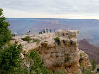 Scenic Overlook at Grand Canyon National Park