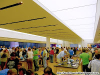 Microsoft Store Full of Customers