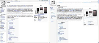 Wikipedia 2010 Redesign