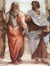 Plato and Aristotle, by Raphael/Platón y Aristóteles, por Rafael.
