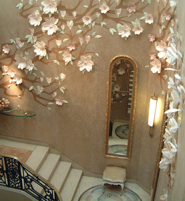 Interior Wall Design on Palatial Living  Fairy Tale Wall Scapes