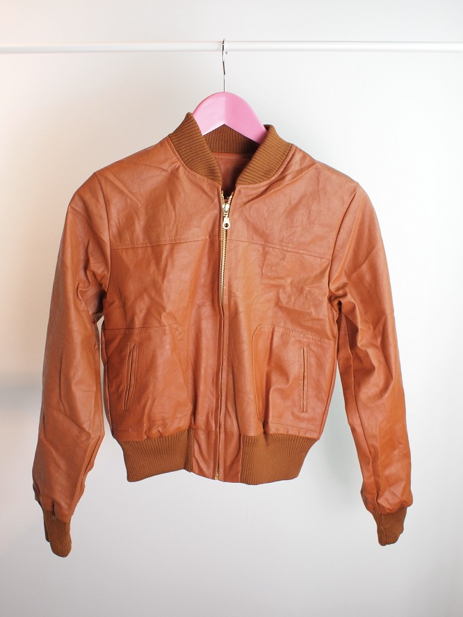 Kimmy (THE STYLISH AND COOLEST BIKER LEATHER JACKET)