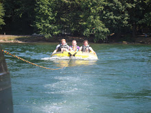 Even Grace went tubing