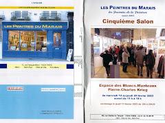 2003 - 5ème Salon des Peintres du Marais