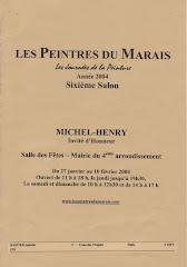 2004 - 6ème Salon des Peintres du Marais