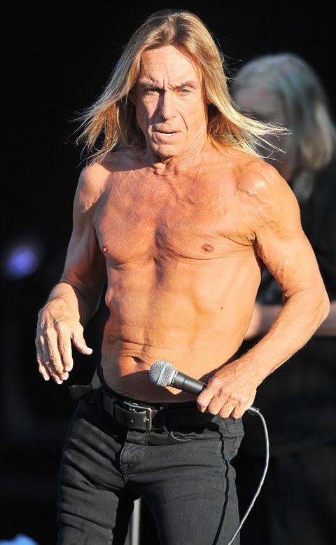 Iggy pop and his new leather shirt movie reviews for Iggy pop t shirt amazon