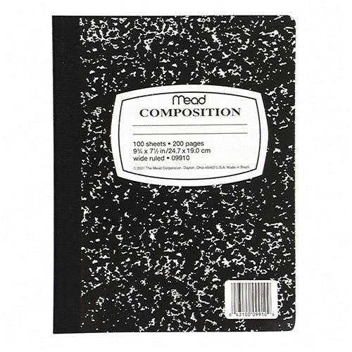 favorite composition book.