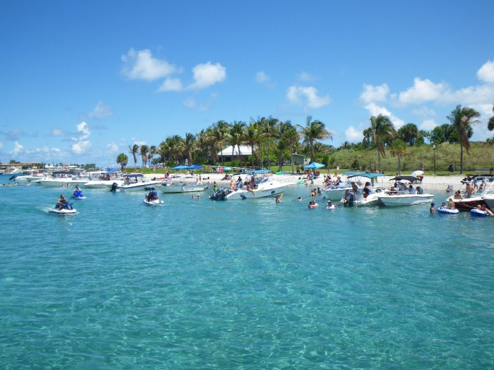 how to get to peanut island