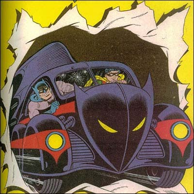 RADIOACTIVE COMICS: VEHICULOS SUPERHEROES: EL BATMOBILE