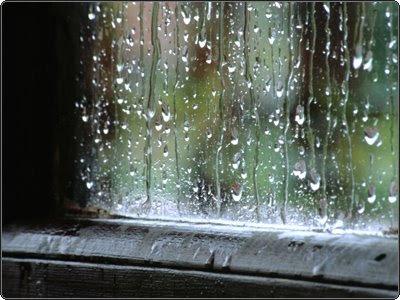 ¿A qué velocidad cae el agua cuando llueve? 0