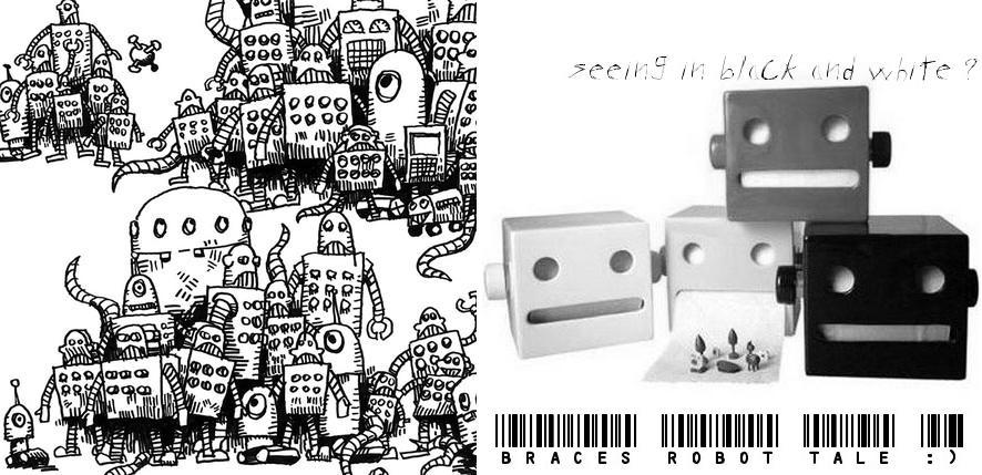 braces robot tale :)
