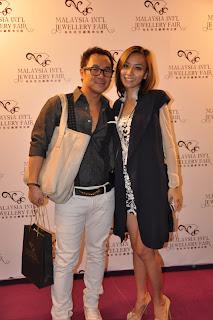 DJ KK and Gan Mei-Yan