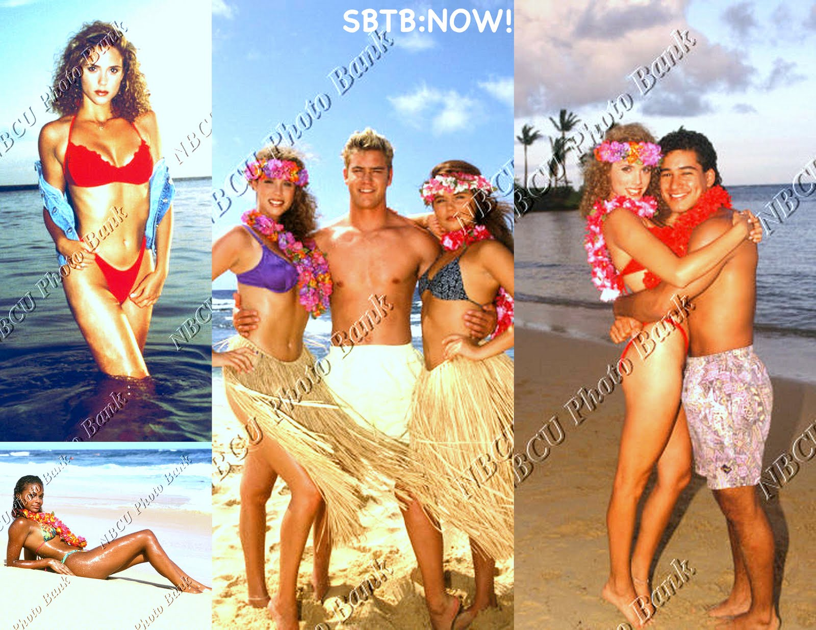 Saved by the Bell: Hawaiian Style  BELL FLASHBACK: Rare! Hawaiian Style Hotties