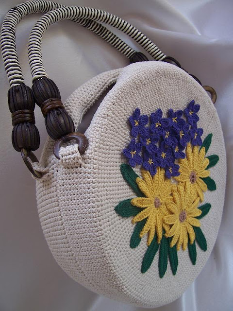 How To Make Crochet Purse : ... want to show purses I made and explain how to make one for yourself
