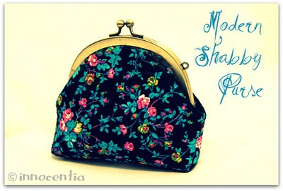 Modern Shabby Purse
