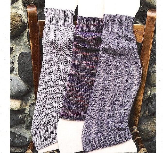 Leg Warmers Knitting Pattern Circular Needles : Stitch Therapy Brooklyn: Leg Warmers, Gloves, Mittens, Socks, Sweater: Knit i...