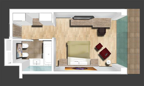 Design a 3D Floor Plan Photoshop tutorial