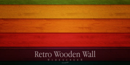Retro Wooden wallpaper